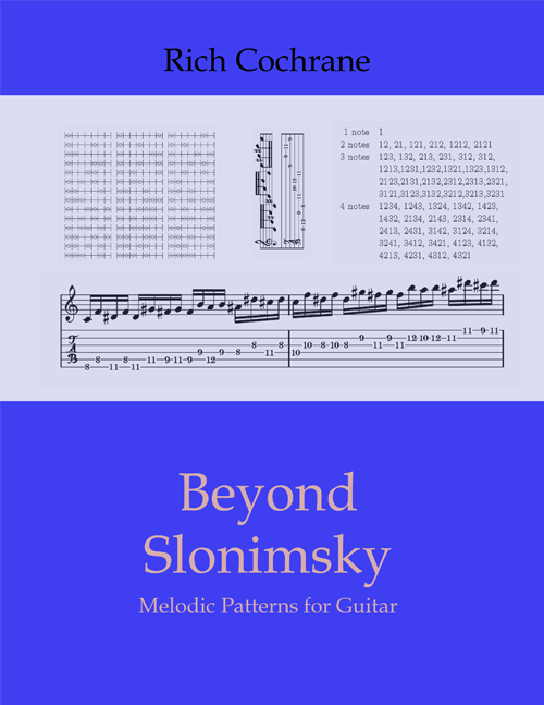 Free Slonimsky ebook for guitarists